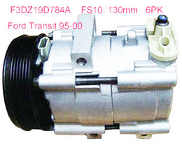 Wholesale Auto Air Condition Compressor - China supply FS10 Auto air conditioning compressor for Ford Transit 95-00 6PK F3 DZ19D78 4A F3DZ19D784A