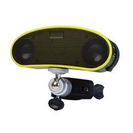 Wholesale Plastic Led Bracket - outdoor with bike Bracket wireless bluetooth speaker with 4 led light and playing from TF card waterproof,crashproof,dustproof highlight fla