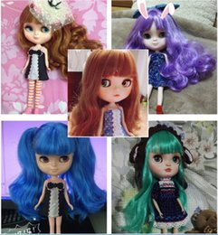 Wholesale Foam Novelties - Icy Doll The Same As Blyth Doll ,With Makeup ,Lower Price ,Suitable For Making Up For Her By girl baby doll