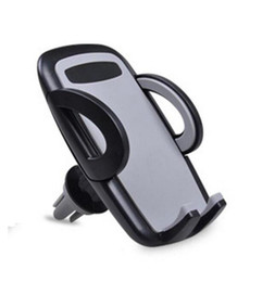 Wholesale Cellphones Smartphones - Wholesale Car Air Vent Phone Mount Holder Universal Smartphones Cradle 360 Rotation Compatible with iPhone SamSung HTC Most Cellphone
