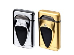 Wholesale Fine Cigarettes - High quality lighter, fine diamond creative metal environmental protection windproof lighter wholesale free delivery