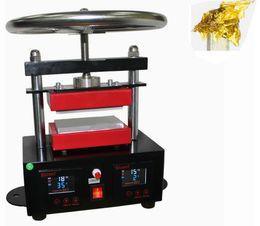 "Wholesale Pressed Plates - 2000+ PSI Professional Rosin Press Hand Crank Duel Heated Plates (2.4"" x 4.7"" plates) 6x12cm plates LLFA"