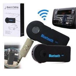 Canada Bluetooth voiture parlée sans fil Audio mains libres Kit de voiture Bluetooth EDUP V 3.0 musique Transmetteur Récepteur de musique stéréo avec boîte de vente au détail Offre