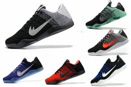 Wholesale Cheap Light Brown Weave - Free shipping 2017 Cheap Sale kobe 11 Elite Men's Running shoes for Top quality XI KB Weaving Sports Training Sneakers Racer Size US 7-12