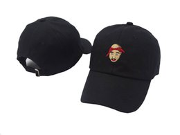 Wholesale Eyes Hat - 2Pac Tupac Shakur Baseball Cap Strapback Retro Easy E Hat All Eyes On Me Dad hip hop hats caps 6 panel xo bone swag casquette
