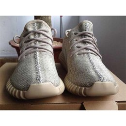 Wholesale Hiking Shoes Oxford - Hot Sale Oxford Tan 350 Boost turtle dove grey Luxury Kanye Milan West Women Men Outdoor Sport Shoes Free Streetwear Running shoes