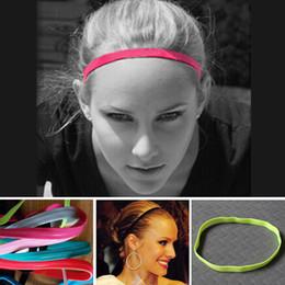 alligator clips zähne großhandel Rabatt Großhandel 10 Stück Die rutschfeste Männer und Frauen elastisches Seil Sport Stirnband / Stirnband / Fußball headban