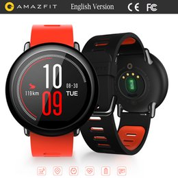 Wholesale Wifi Smart Watches - Huami AMAZFIT Sports Smart Watch Bluetooth 4.0 WiFi Dual Core 1.2GHz 512MB 4GB GPS Heart Rate Monitor
