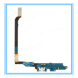 Wholesale S4 Docks - For Samsung Galaxy S4 IV I9500 i9505 I9505 I337 i545 Micro USB Charging Charger Port Dock Connector Flex Cable High Quality Replacement