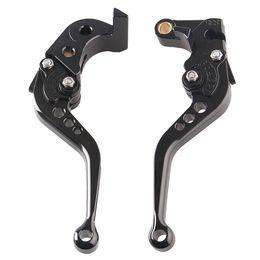 Wholesale Gsxr Brake Clutch Levers - Short Brake Clutch Lever Set For Suzuki GSXR 600 750 06-10 & GSXR1000 05 06