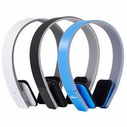 Wholesale Tablet Support Chinese - BQ-618 Wireless Bluetooth V4.1+EDR Headset headphone Support Handsfree with Intelligent Voice Navigation for phone Tablet
