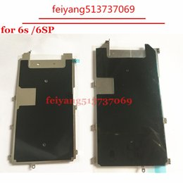 """Wholesale Lcd Shield - 50pcs NEW With Heat Dissipation Adhesive LCD Plate Metal Backplate Shield For iPhone 6S 4.7"""" 6S plus 5.5"""""""
