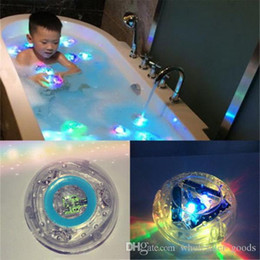 Wholesale led lights bath - Bath Toys Party In The Tub Toy Bath Water Led Light Kids Waterproof Children Funny Toys Children Bathtub Lights Party Favors Waterproof Led