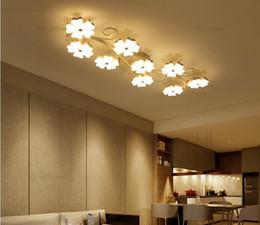 Wholesale lighting controls design - Modern led ceiling lights plum blossom Ceiling Lighting Fixtures bedroom light flush mount ceiling lights creative design AC85-265V