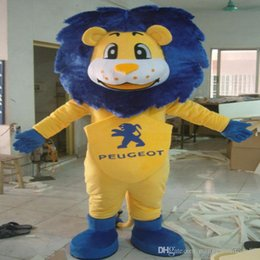 Wholesale Mascot Costumes For Sale - 2016 High quality Lion Mascot Cartoon Character Costume The Lion King for adults animal mascot costume festival fancy dress factory Sale