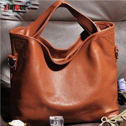 Wholesale soft production - Wholesale-genuine leather handbag 2016 New production fashion Women bags designer Women messenger Bags High quality women leather handbags