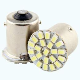 Wholesale 22 Brake - 300 X S25 22 SMD 1156 BA15S 1206 Auto Car Turn Lamp Brake Tail Parking Light LED Light Bulb 22 LED 12V Car Led Light Bulbs SMD