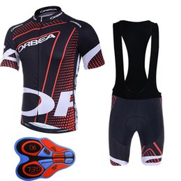 Wholesale Bicyle Shorts - ORBEA Pro cycling jersey bib shorts set Ropa Ciclismo summer breathable MTB Bicyle clothes Maillot Sportwear China F3002