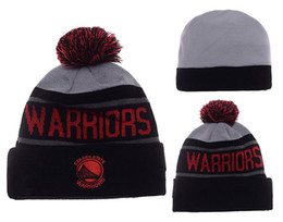 Wholesale Ties For Women - High quality New season basketball Curry fans Golden State winter kniited hats Warriored beanies for men women shipping free shipping