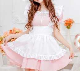 Wholesale Cheapest Sexy Costumes - Cheapest Sexy LingerieMaidserwant Uniform Sexy LingeriePink