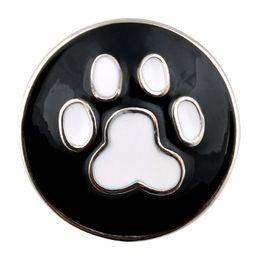 Wholesale holidays single - Hot Sale Interchangeable Accessory Single Molding footprint Ginger Snap Fit 18mm Button Snaps Bracelet Jewelry ZA278
