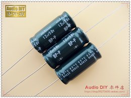 Wholesale Nichicon Audio Capacitors - 30PCS Nichicon old BP-P (DB) 12uF 50V audio with a non-polar axial electrolytic capacitor free shipping