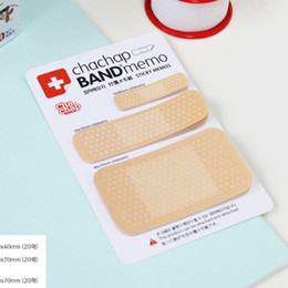 Wholesale Adhesive Memo Pad - Wholesale- 60 Sheet Lovely Girls Memo Sticker Memo Pad Flags Sticky Notes School Supplies