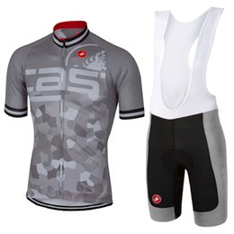 Wholesale Castelli Clothing - 2017 castelli hot style outdoor sports short-sleeved shirt cycling jerseys bike riding summer clothing