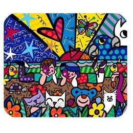 Общие Высокое Качество Персонализированные Ромеро Бритто Прямоугольник Нескользящей Резины Коврик Для Мыши Игровой Коврик Для Мыши от Поставщики сад натуральный