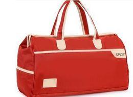 Wholesale Wholesale Luggage Bag - Large capacity Oxford cloth moving bag student hand travel bag fitness bag luggage