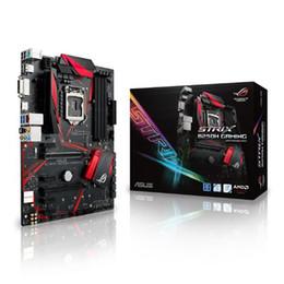 Wholesale I5 S - ASUS ROG STRIX B250H GAMING Motherboard B250 LGA 1151 Dual Channel DDR4 64G Support 7Gen Core I7  I5  I3 Pentium Celeron RAM