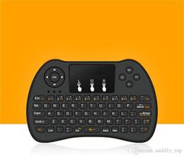 беспроводная клавиатура stb Скидка 2,4 ГГц Беспроводная H9 Fly Air Mouse Мини QWERTY-клавиатура с сенсорной панелью Android TV Box Пульт дистанционного управления Геймпад Контроллер для IPTV T95