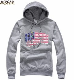 Wholesale Thick Hoodies For Boys - Wholesale-Hot-sale BBC Billionaire Boys Club Hoodies for Men and Women Fleece Lined Hip Hop Skateboard Crewneck Pullover Hoodie S-XXL