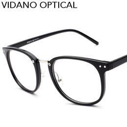 76e3fc6502e Vidano Optical 2017 New Arrival Big Square Eyeglasses For Men   Women Smart  Stylish Designer Glasses Retro Hot Casual UV400 Eyewear