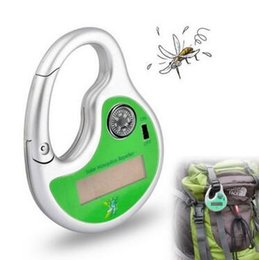 Wholesale Solar Outdoor Pest Repeller - Ultrasonic Pest Control Outdoor Portable Repeller Solar Ultrasonic Mosquito Insect Killer With Compass Mosquito Repeller CCA6421 60pcs