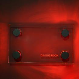 Canada LED Standoff signe titulaire pour acrylique blanc rouge bleu vert clair 4pcs / set pour plaque acrylique livraison DHL gratuite Offre