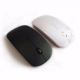 Wholesale Mini Mause - Wholesale- 2.4Ghz Wireless Mouse Mini Game Mice Souris Sans Fil Mini Girls Optical Gaming Slim Computer Mause Wholesale For Macbook Stock