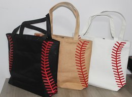 Wholesale Brand College - 4 colors in stock softball baseball bag Tote Brand New fashion Baseball Totes Canvas Tote sports Softball bag