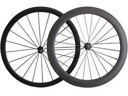 Wholesale Cheap Spokes - Full Carbon Road Bike Wheels 38+60 mm clincher Tubular carbon Novatec Hub Cheap road bicycle wheels Cn Spoke Cheap Road Bike Wheelset