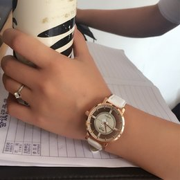 Wholesale Tan Belt For Women - Ms table quartz watches hollow out belt watches for women students