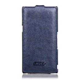 Für Sony Xperia Z Fall Vertikale Ledertasche für Sony Xperia Z L36i L36i C6602 C6603 Z LTE Handyhüllen von Fabrikanten
