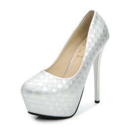 Wholesale Dress Shoes Wedding Vintage Women - New Arrival Hot Sale Specials Sweet Girl Good Quality Sexy Fine Vintage Noble Round Head Platform Nightclub Party Heel Single Shoes EU34-39