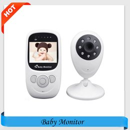 Wholesale babysitter camera - Wholesale- Wireless Infant Radio Babysitter Digital Video Camera Baby Sleeping Monitor Audio Night Vision Temperature Display Radio Nanny
