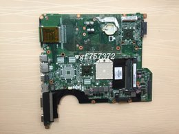 Wholesale Vga Amd - For HP Pavilion DV5 DV5-1000 DV5-1100 Laptop Motherboard 482325-001 DA0QT8MB6G0 DDR2 AMD Notebook Systemboard