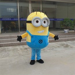 Wholesale Mascot Costume Minions - Costumes Accessories Cosplay Costumes on sale! free shipping, Despicable minion mascot costume for adults despicable mascot costume