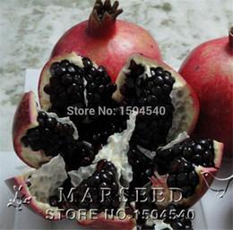 germogliare i semi Sconti 20 pz / borsa Nero semi di melograno casa pianta Deliziosa frutta semi molto grande e dolce per la casa giardino pianta germogliare 95%