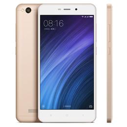 Wholesale Xiaomi Qwerty - Global Version! Original Xiaomi Phone Redmi 4A Prime 2GB + 32G Mobile Phone quad core phone unlocked cell phones 13MP MIUI 8