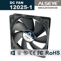 rolamento de ventilador 12v Desconto Atacado-ALSEYE 12025 120 milímetros DC Fan para computador, 12v 0.28A 2000RPM rolamento de refrigeração hidráulica Cooler 120 x 120 x 25 mm