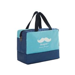 Wholesale Swimming Pool Bags - Unisex Oxford Waterproof Swimsuit Bag Swimming Combo Dry Wet Bag Wet and Dry Separation Bag Women Swimming Pool Beach Sack
