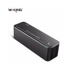 Wholesale Flips Speakers - Bluetooth Speaker Wireless stereo 16W W-King X8 Super Bass Aluminum NFC sound box pk SL-1000S Flip pulse 2 CHR2
